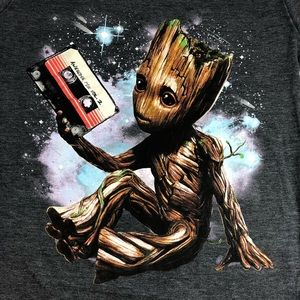 Groot Marvel Guardians of the Galaxy shirt